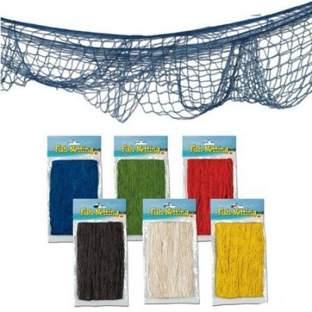 Decorative fish net colors may vary for Fishing nets walmart