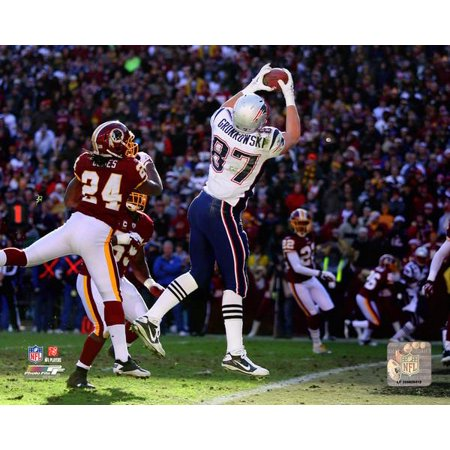 - Rob Gronkowski 14th Touchdown sets the NFL record for most touchdown receptions by a tight end in a season Photo Print