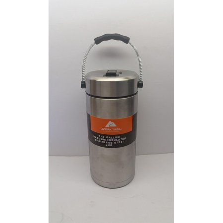 Ozark Trail 1/2 Gallon Vacuum Insulated Stainless Steel Tumbler/ Jug