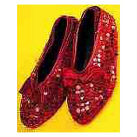 Halloween Cover (Halloween Red Sequin Child Shoe Covers )