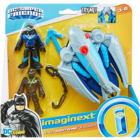 Imaginext DC Super Friends Ninja Nightwing & Glider - Nightwing Bird
