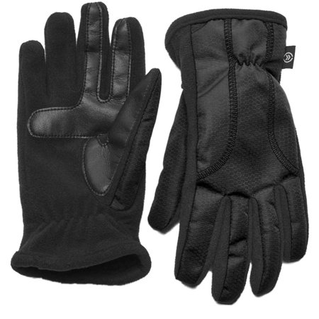Isotoner Smart Touch Women Black Matrix Tech Glove Smartouch Thermaflex