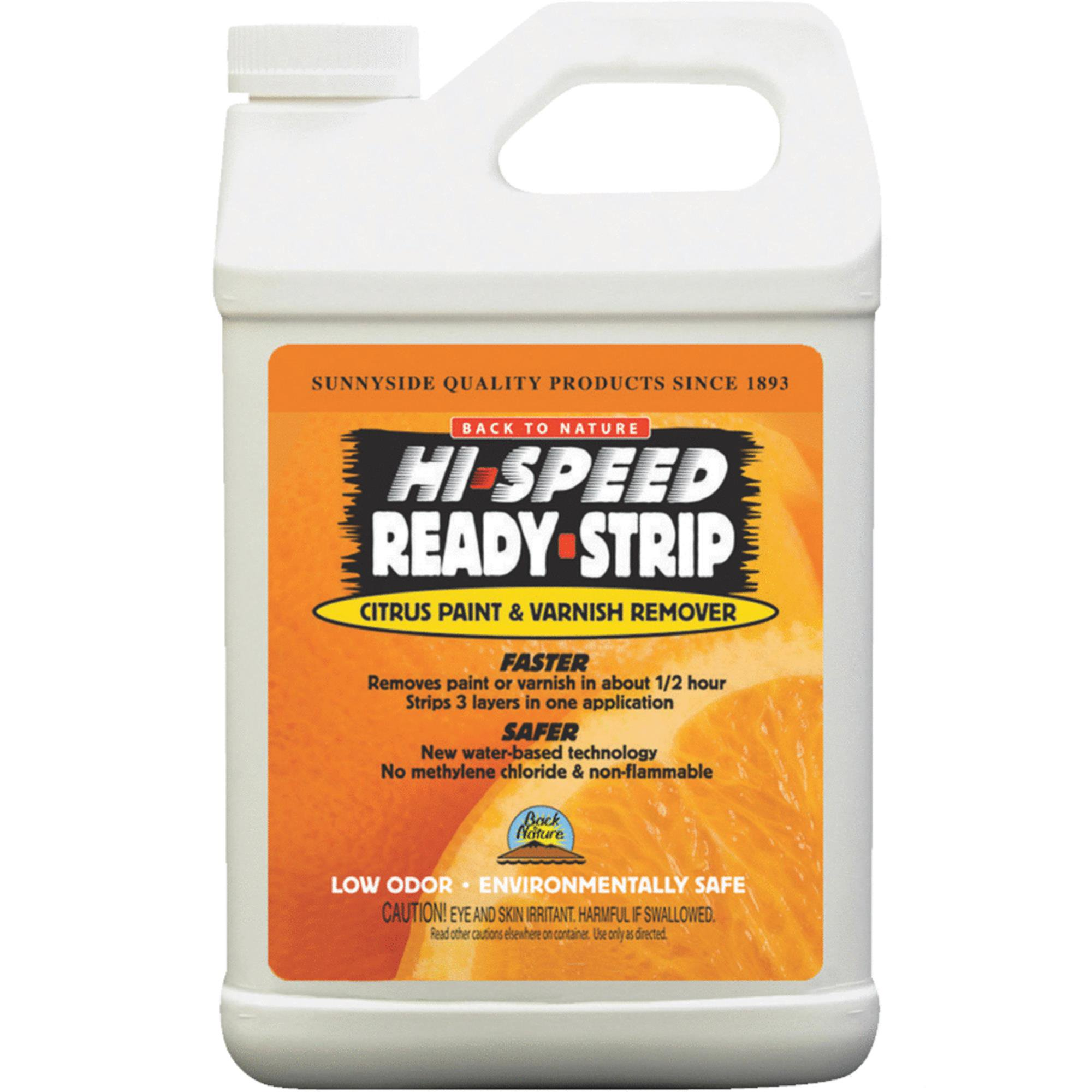 Back to Nature Hi-Speed Ready-Strip Paint & Varnish Stripper by SUNNYSIDE CORPORATION