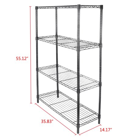 GZYF Metal Wire Layer Shelf Rack Utility Storage Shelving