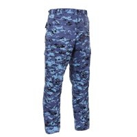 Military Style Digital Camo BDU Pants, Pink Digital Camouflage, XS