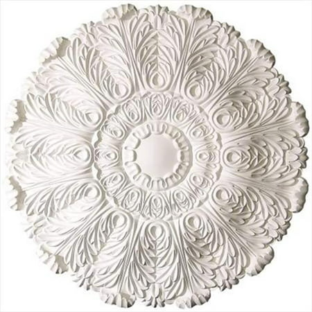 American Pro Decor 5APD10234 31.5 in. Acanthus Leaves Ceiling Medallion