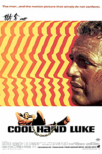 Cool Hand Luke (1967) Movie Poster 24x36 inches Paul Newman by movie posters