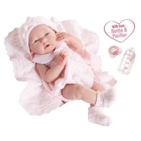 JC Toys La Newborn All Vinyl Anatomically Correct Real Girl 15
