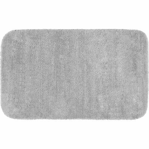 Traditional Plush Nylon Washable Bath Rug