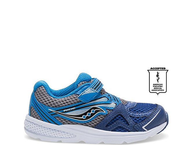 Saucony Boys Baby Ride Sneaker Toddler//Little Kid