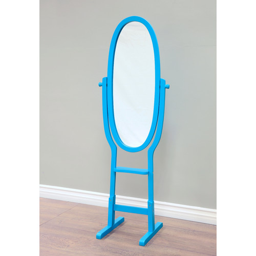 Home Craft Kid's Cheval Mirror, Multiple Colors by Megaware Furniture