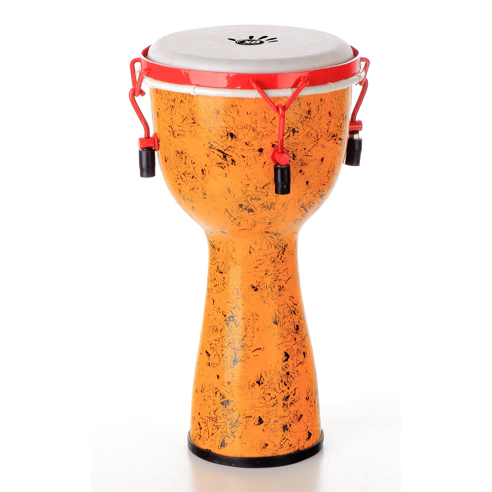 X8 Drums Urban Beat Key Tuned Djembe with Synthetic Head, Backpacker