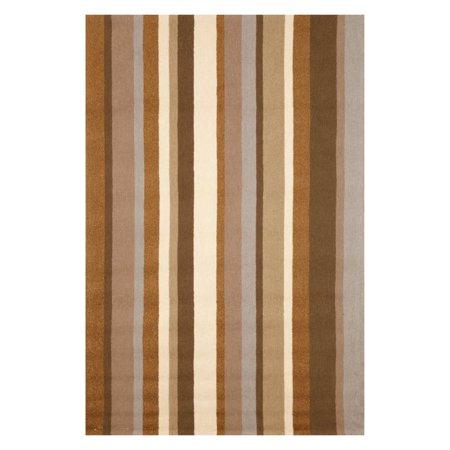 Liora Manne Import Co Newport Vertical Stripe Indoor / Outdoor Rugs