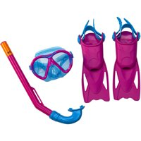Aqua-Leisure Dolfino Child 5-Piece Dive Set (Pink)