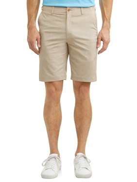 "Ben Hogan Men & Big Men's 9"" Performance Heather Active Flex Waistband 4-Way Stretch Golf Shorts"