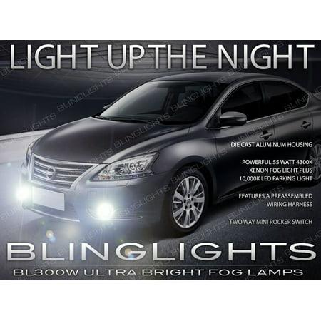 2013 2014 2015 nissan sentra xenon fog lamp driving light b17 - walmart com