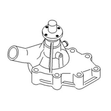 New Water Pump for Case/International Harvester 1190, 1194