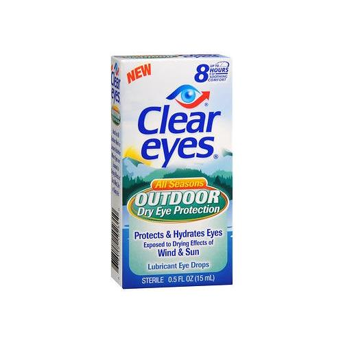 Medtech Products Clear Eyes  Dry Eye Protection, 0.5 oz