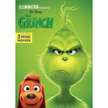 Illumination Presents: Dr. Seuss' The Grinch (DVD)