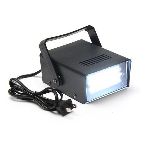 Mini 24 High-Power LED Stage Light Strobe Flash Light For Halloween Club Dj Disco Bar Stage House Party Lighting,3W 220V