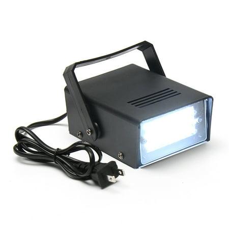 Mini 24 High-Power LED Stage Light Strobe Flash Light For Halloween Club Dj Disco Bar Stage House Party Lighting,3W 220V](Halloween Club Party London)