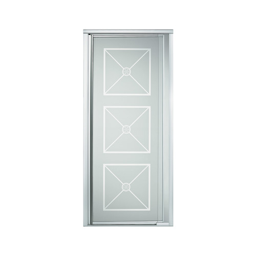 "Sterling 1505D-42N-G10 Vista Pivot II 36""-42""W x 65.5""H Framed Pivot Shower Door, Available in Various Colors"