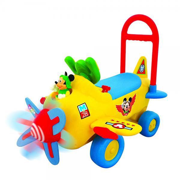 Kiddieland Disney Mickey Plane Activity Ride On