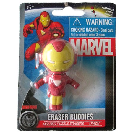 Iron Man Mini Puzzle Eraser / Favor - Eraser Puzzle