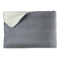 Melange Home Merino Wool Blanket