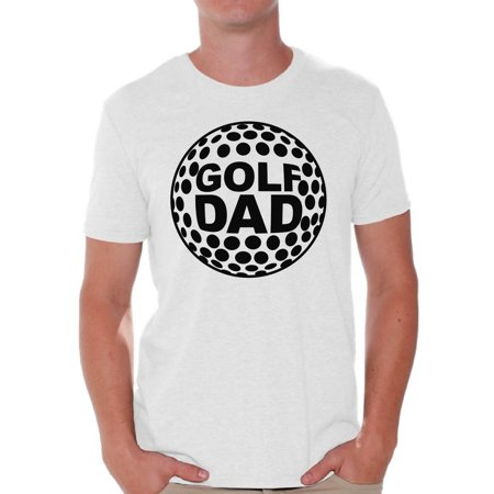 Golf Theme Ideas (Awkward Styles Men's Golf Dad Graphic T-shirt Tops Black Sport Dad Father`s Day Gift)
