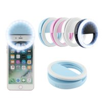36 Led Selfie Light Ring Adjustment Photo Shoot Flash Fill Light Clip for Camera iPhone iPad Sumsung Galaxy etc