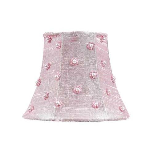 Jubilee Collection 5'' Silk Bell Candelabra Shade