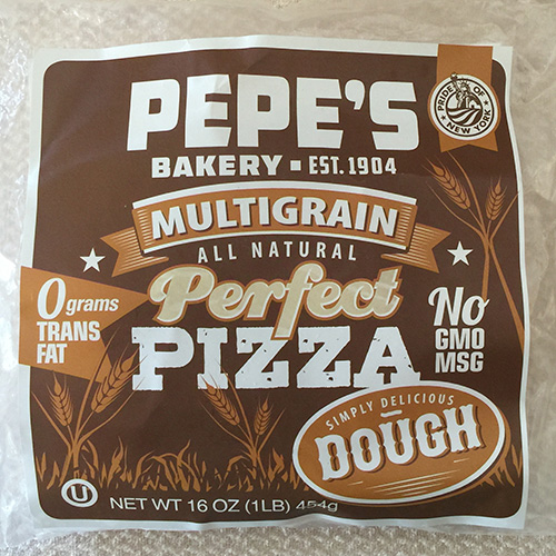 Pepe's Multi-Grain Perfect Pizza Dough, 16 oz