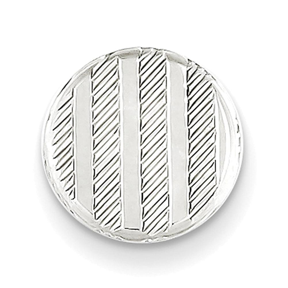 Lex /& Lu Sterling Silver Tie Tac LAL25012