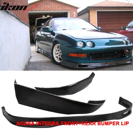 Fits Acura Integra Coupe Spoon PU Front Bumper Lip TR ABS - Acura integra front bumper