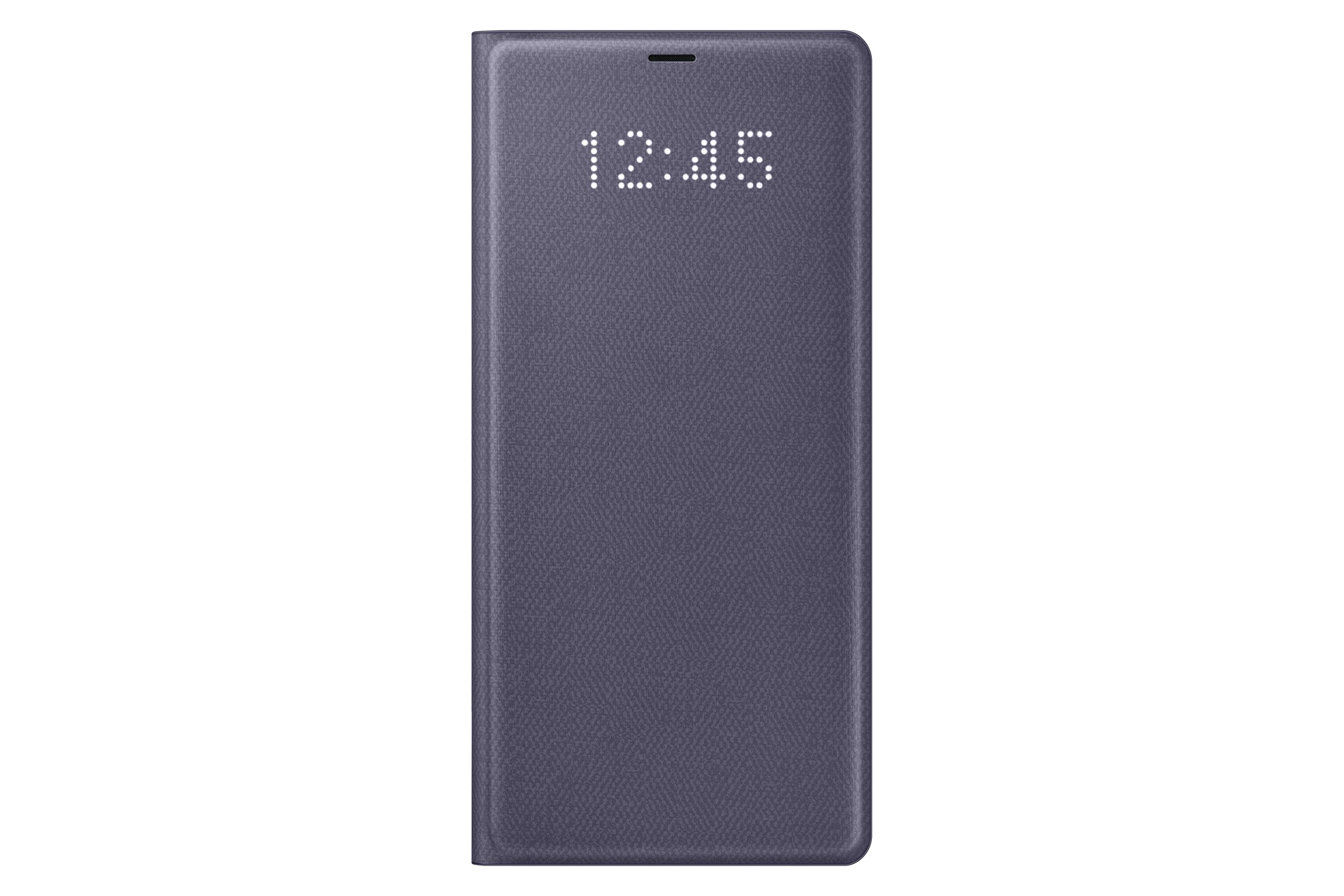 outlet store e1792 05bf0 Samsung Galaxy Note8 LED View Wallet Case, Orchid Gray