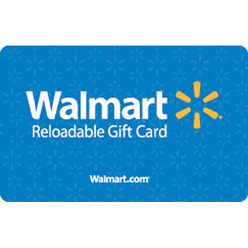 Basic Blue Walmart Gift Card