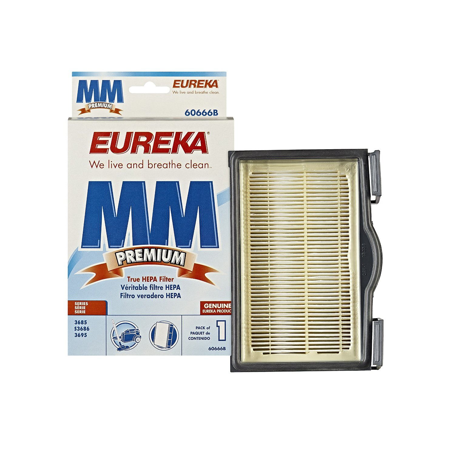 Eureka MM and HF-8 HEPA Vacuum Filter