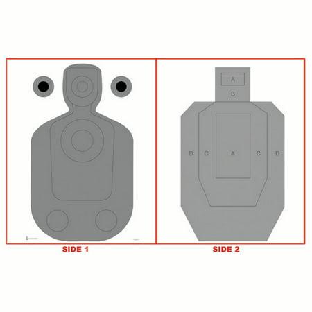 10 Pcs of Phoenix (AZ) PD Modified TQ-21 Two-Sided Qualification Target Size: 23