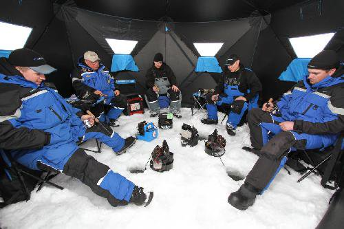 Clam Outdoor Winter Ice Fishing 9735 Pop Up Shelters Six Pack 1660 Mag Thermal - Walmart.com  sc 1 st  Walmart & Clam Outdoor Winter Ice Fishing 9735 Pop Up Shelters Six Pack 1660 ...