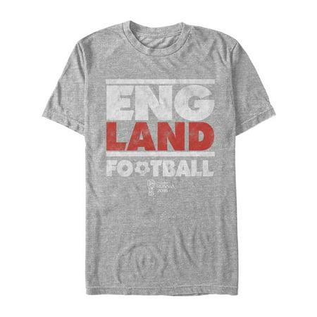 584da3d9d37 FIFA World Cup Russia 2018™ - FIFA World Cup Russia 2018™ England Stripes  Mens Graphic T Shirt - Walmart.com
