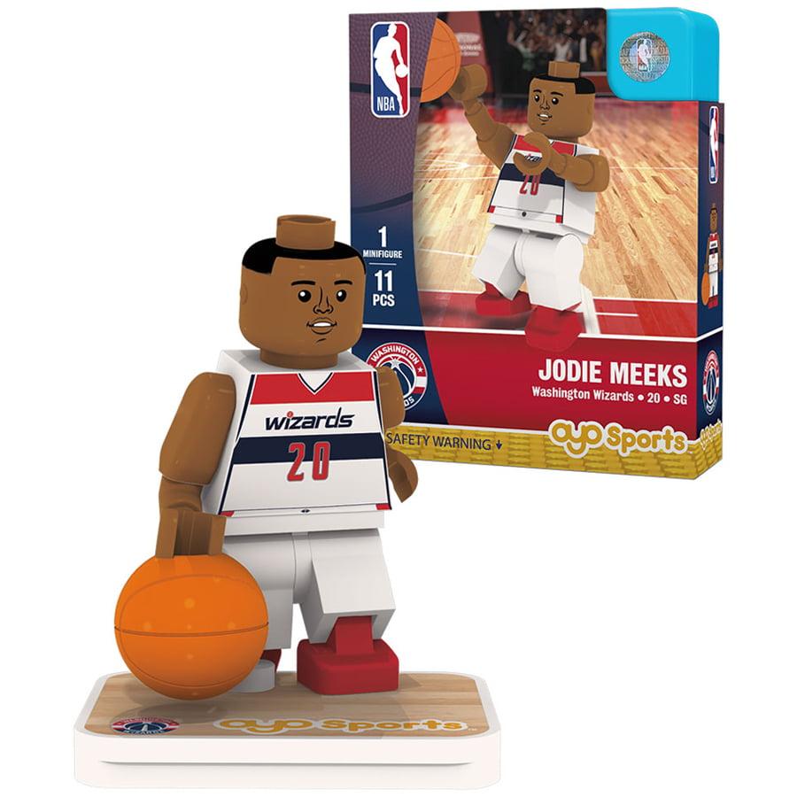 Jodie Meeks Washington Wizards OYO Sports Home Jersey Player Minifigure - No Size