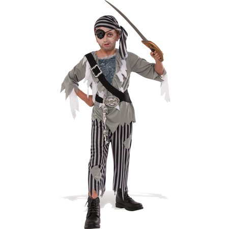 Ghostly Pirate Boys Costume (Little Boy Pirate Costume)