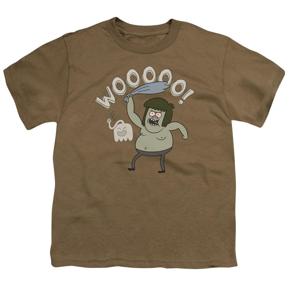 Regular Show Wooooo Big Boys Youth Shirt
