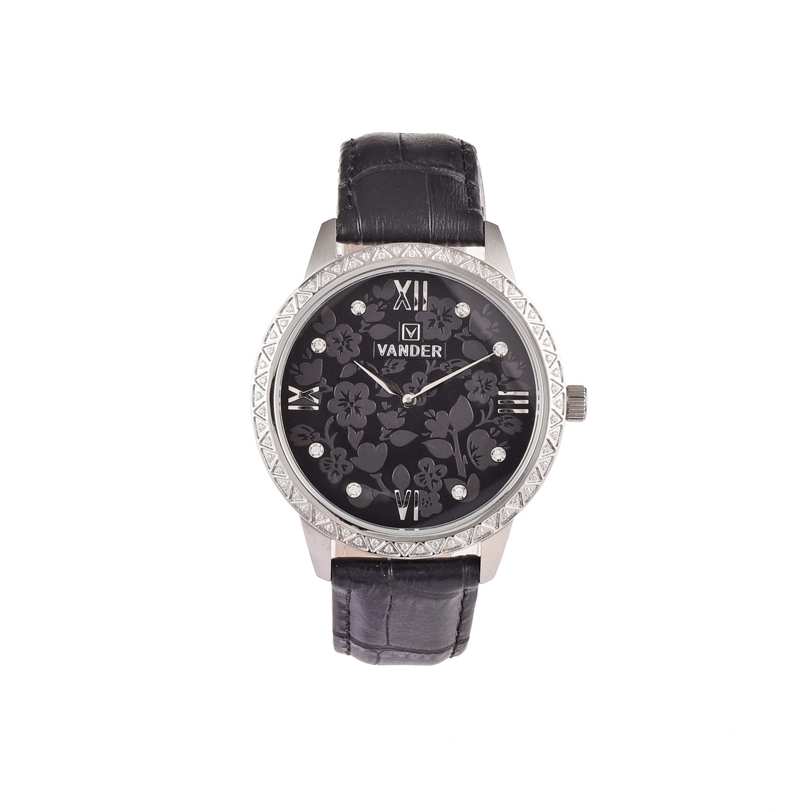 Black New Luxury Swiss RONDA Quartz Movement Man's Leisure Wrist Watch Gift For Father