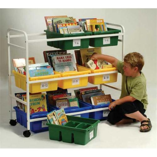 Copernicus BB005-9 Leveled Reading Book Browser Cart with...