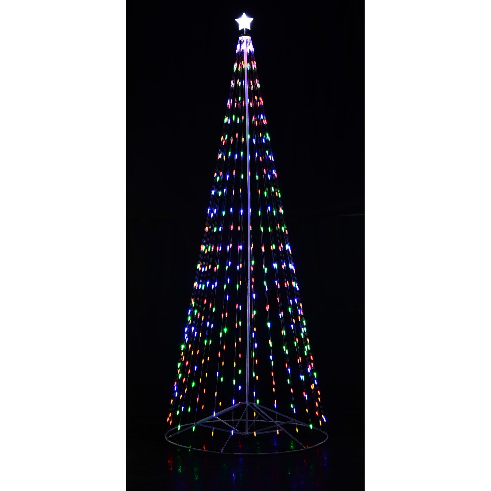 Homebrite Outdoor LED Cone Tree with Wireless Remote