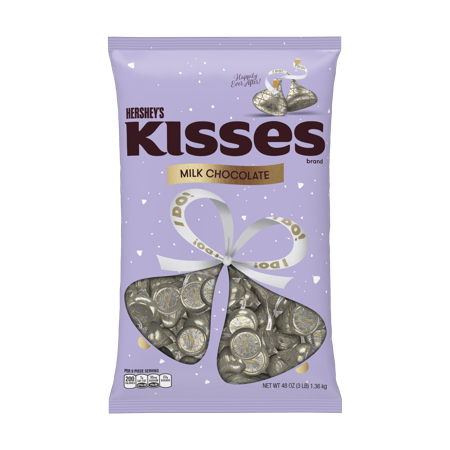Hersheys Kisses I Do Milk Chocolate - 48oz