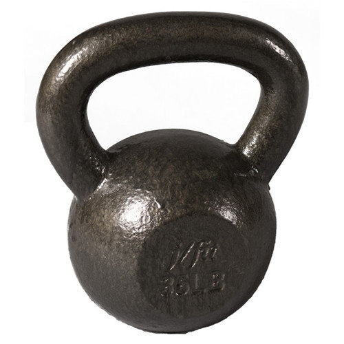 J Fit 50 lbs Cast Iron Kettlebell