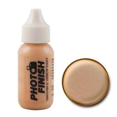 (Photo Finish Professional Airbrush Foundation Medium  Luminous - .5oz 15ml bottle)